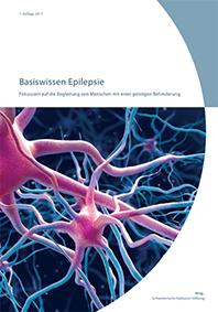 Bild der Titelseite der Publikation Basiswissen Epilepsie
