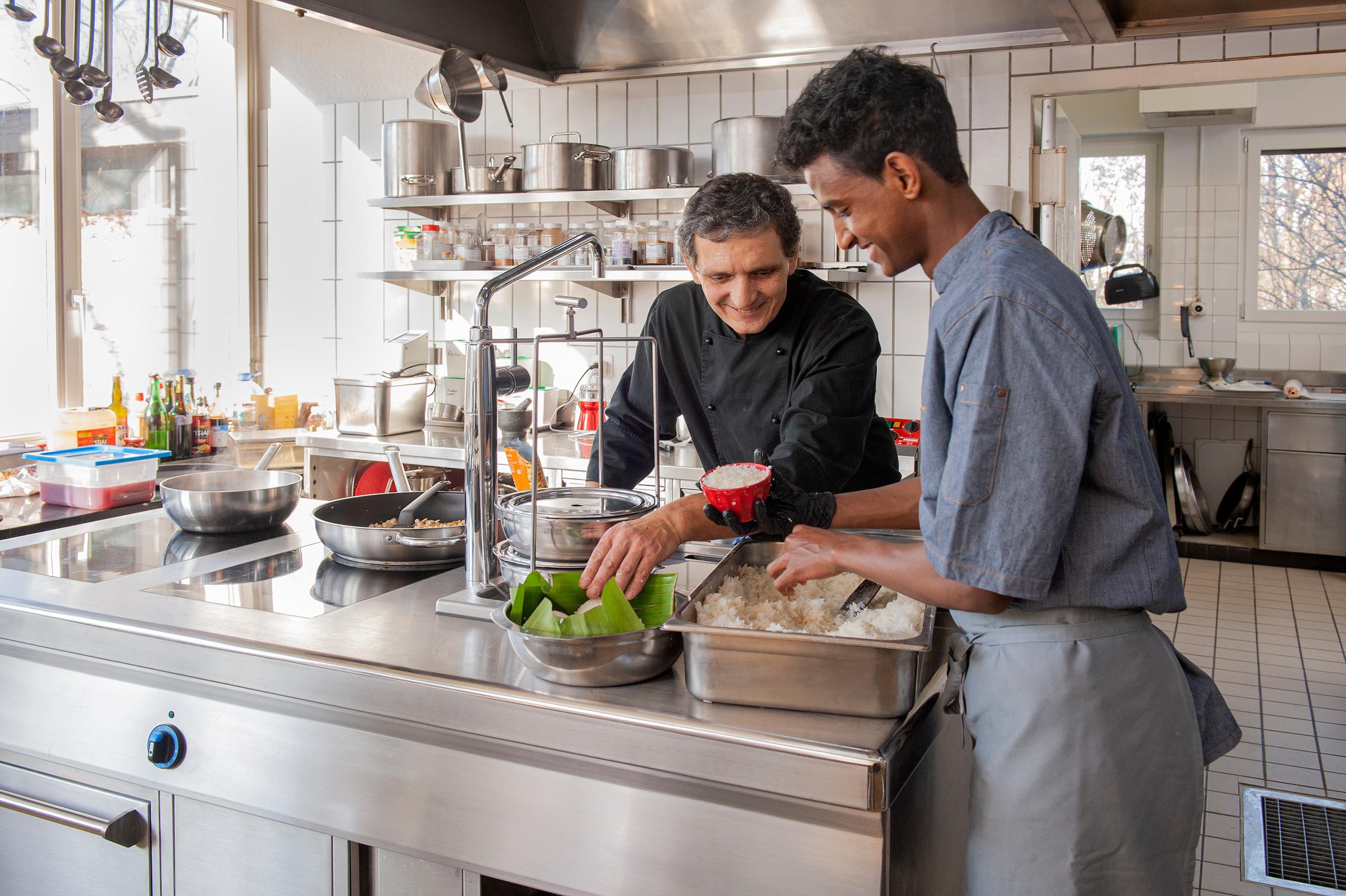 Gaumenfreuden aus der Küche der Schenkung Dapples